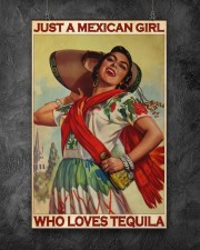 JUST A MEXICAN GIRL  11x17 Poster aos-poster-portrait-11x17-lifestyle-12