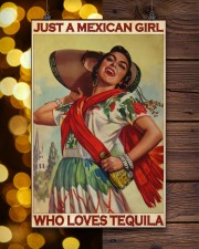 JUST A MEXICAN GIRL  11x17 Poster aos-poster-portrait-11x17-lifestyle-24