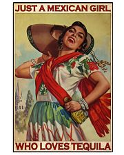 JUST A MEXICAN GIRL  11x17 Poster front