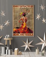 Easily Distracted By Music And Tequila 11x17 Poster lifestyle-holiday-poster-1