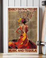 Easily Distracted By Music And Tequila 11x17 Poster lifestyle-poster-4