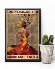 Easily Distracted By Music And Tequila 11x17 Poster lifestyle-poster-8