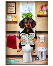 Love Dachshund 11x17 Poster front