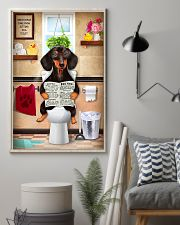 Love Dachshund 11x17 Poster lifestyle-poster-1