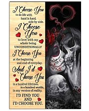 I CHOOSE YOU 2 11x17 Poster front