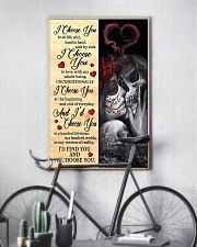 I CHOOSE YOU 2 11x17 Poster lifestyle-poster-7