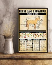 Horse Care Knowledge 11x17 Poster lifestyle-poster-3