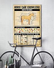 Horse Care Knowledge 11x17 Poster lifestyle-poster-7