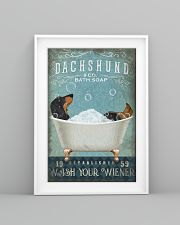 WASH YOUR WIENER 11x17 Poster lifestyle-poster-5