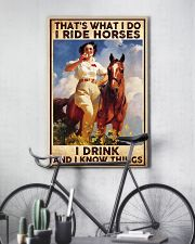 That's What I Do I Ride Horses 11x17 Poster lifestyle-poster-7