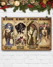 BE STRONG WHEN YOU ARE WEAK 17x11 Poster aos-poster-landscape-17x11-lifestyle-28