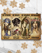 BE STRONG WHEN YOU ARE WEAK 17x11 Poster aos-poster-landscape-17x11-lifestyle-30