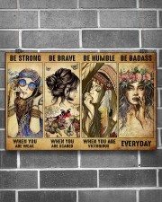 BE STRONG WHEN YOU ARE WEAK 17x11 Poster aos-poster-landscape-17x11-lifestyle-18