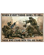 When Everything Goes To Hell 17x11 Poster front