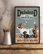 Wash Your Wiener 11x17 Poster lifestyle-poster-3
