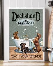 Wash Your Wiener 11x17 Poster lifestyle-poster-4