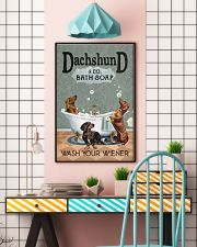 Wash Your Wiener 11x17 Poster lifestyle-poster-6