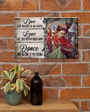Live Like Heaven Is On Earth 17x11 Poster poster-landscape-17x11-lifestyle-23