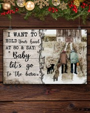 I Want To Hold Your Hand  17x11 Poster aos-poster-landscape-17x11-lifestyle-27