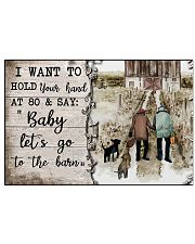 I Want To Hold Your Hand  17x11 Poster front
