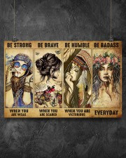 Be Strong When You Are Weak 17x11 Poster aos-poster-landscape-17x11-lifestyle-12