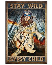 Stay Wild  11x17 Poster front