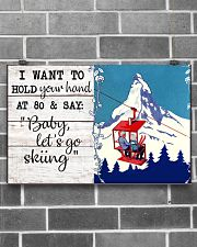 BABY LET'S GO SKIING 17x11 Poster poster-landscape-17x11-lifestyle-18