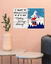 BABY LET'S GO SKIING 17x11 Poster poster-landscape-17x11-lifestyle-21
