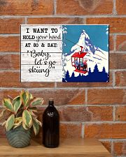 BABY LET'S GO SKIING 17x11 Poster poster-landscape-17x11-lifestyle-23