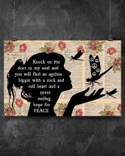 Knock On The Door To My Soul  17x11 Poster aos-poster-landscape-17x11-lifestyle-12