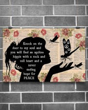 Knock On The Door To My Soul  17x11 Poster aos-poster-landscape-17x11-lifestyle-18