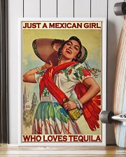 Just A Mexican Girl Who Loves Tequila 11x17 Poster lifestyle-poster-4