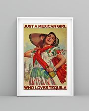 Just A Mexican Girl Who Loves Tequila 11x17 Poster lifestyle-poster-5