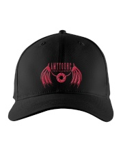 Red Logo Hats Embroidered Hat front