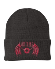 Red Logo Hats Knit Beanie thumbnail