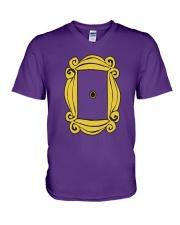 FRIENDS' DOOR  V-Neck T-Shirt thumbnail
