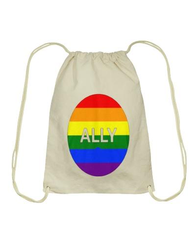 LGBT Ally Rainbow Circle 1