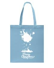 Merry Christmas on the sky - Christmas Gifts Tote Bag thumbnail