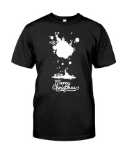 Merry Christmas on the sky - Christmas Gifts Classic T-Shirt front