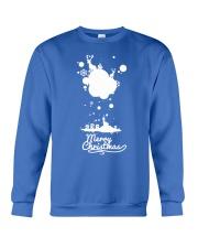 Merry Christmas on the sky - Christmas Gifts Crewneck Sweatshirt thumbnail