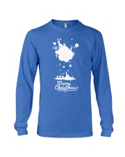 Merry Christmas on the sky - Christmas Gifts Long Sleeve Tee front
