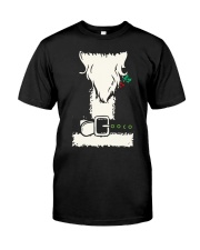 Penguins decorating Christmas  - Christmas Gifts Classic T-Shirt thumbnail