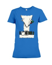 Penguins decorating Christmas  - Christmas Gifts Premium Fit Ladies Tee thumbnail