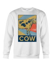 Retro Cows Crewneck Sweatshirt thumbnail