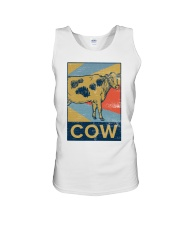 Retro Cows Unisex Tank thumbnail