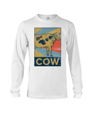 Retro Cows Long Sleeve Tee thumbnail