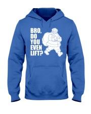 Bro Do You Even Lift  - Christmas Gifts Hooded Sweatshirt thumbnail
