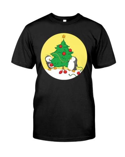 Penguins decorating Christmas  - Christmas Gifts