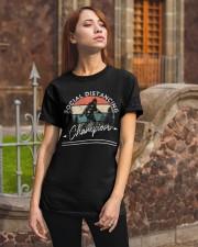 Social Distancing - Champion - Bigfoot Classic T-Shirt apparel-classic-tshirt-lifestyle-06