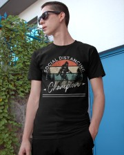 Social Distancing - Champion - Bigfoot Classic T-Shirt apparel-classic-tshirt-lifestyle-17